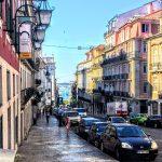 ポルトガル、リスボンの町並み